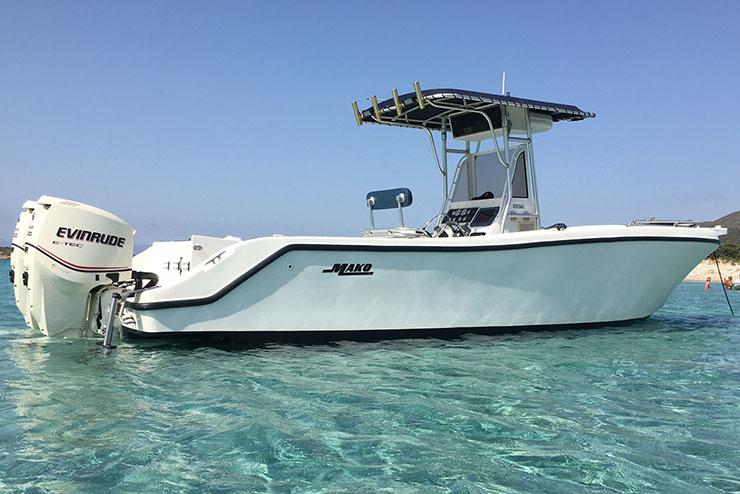 boat rent fisherboat Mako Sardinia - Special Charter