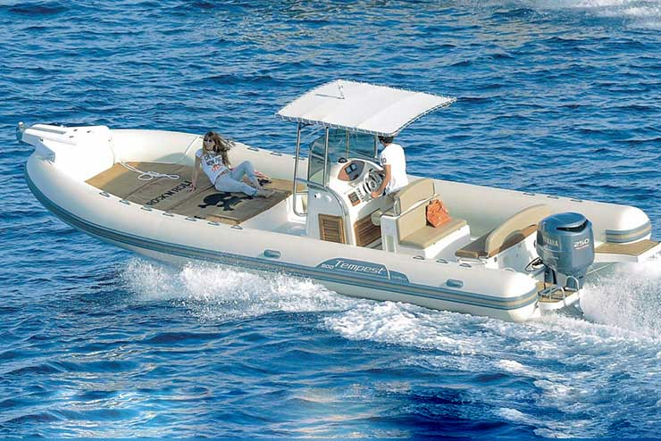 Rent boat Tempest 900 Sardinia - Special Charter