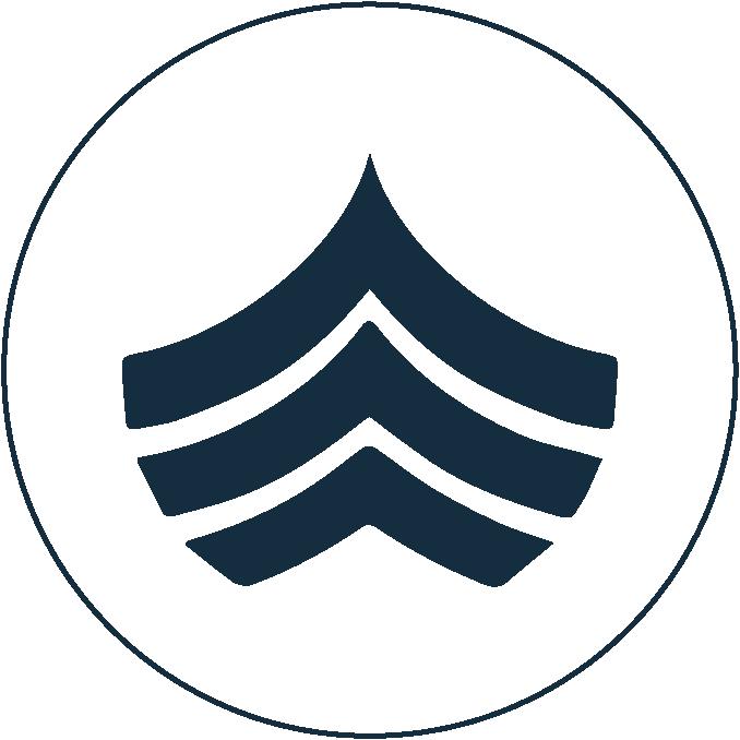 Special Charter Sardinia icon blue white
